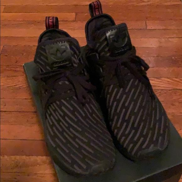 save off e34c4 6b98f Adidas NMD XR1 Triple Black Mens 10.5